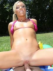 Ally Kay Fucked long and hard outdoors!